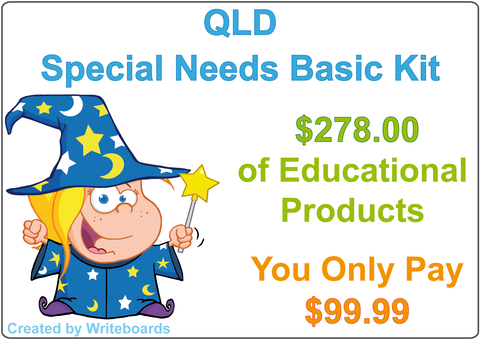 Our Basic Handwriting Kit includes the Lot. It is the Ultimate Package Deal for Starting Out.
