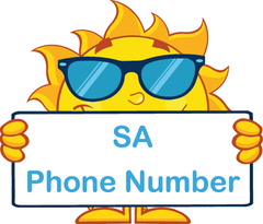 Teach Your Child Their Phone Number using SA Handwriting made by Writeboards