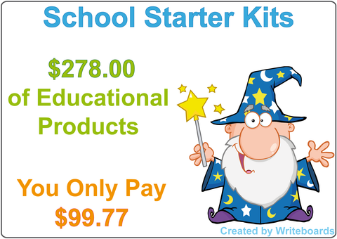 School Starter Kits for Australian Children includes QLD, NSW, NT, SA, TAS, WA and VIC.