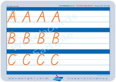 Advanced School Starter Kit includes free TAS uppercase letters with directions