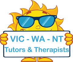 VIC Modern Cursive Font Worksheets for Occupational Therapists and Tutors
