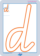 Special Needs Lower Case Alphabet Worksheets and Handwriting Kit for VIC, NT and WA.