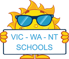 VIC Modern Cursive Font colourful and engaging worksheets for teachers and schools.