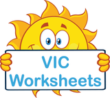 VIC handwriting worksheets and flashcards for children in VIC, VIC Modern Cursive Font