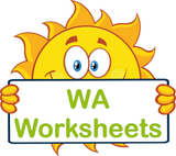 WA handwriting worksheets and flashcards for children in WA, VIC Modern Cursive Font