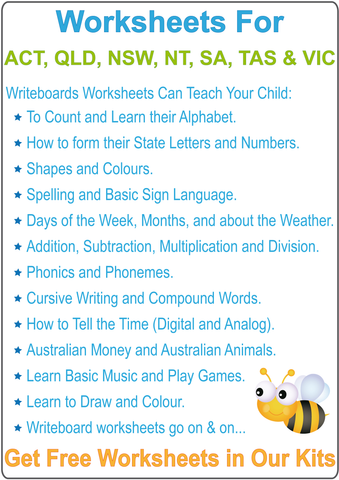 Australian Handwriting Worksheets for Your Child.