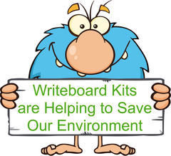 Writeboards clear reusable writing board is an environmentally friendly eco product