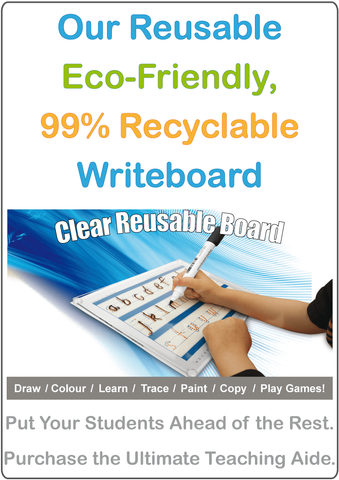 Our Reusable Writeboard.
