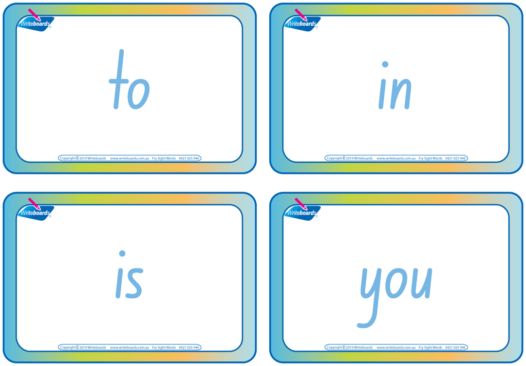 Teachers Resources, NSW Foundation Font Sign Language Flashcards, plus Fry Sight Word Flashcards.