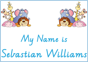 Teach your child how to write their name using VIC Modern Cursive Font for VIC-WA-NT