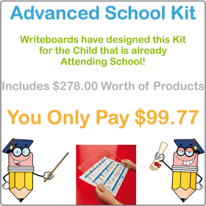 SA School Handwriting Kit includes Free Worksheets & Our Reusable Writing Board