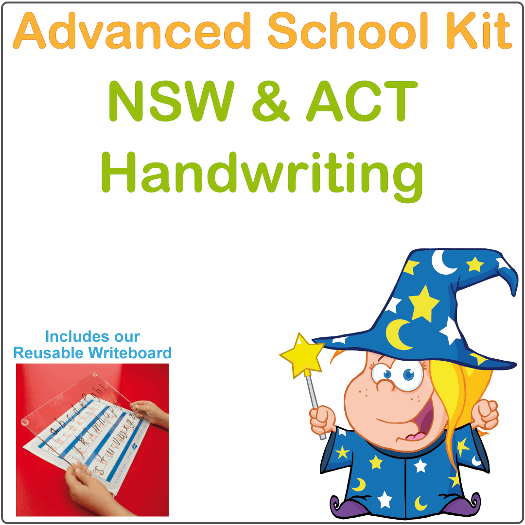 NSW and ACT Advanced Handwriting Kit, NSW Foundation Font Advanced School Kit