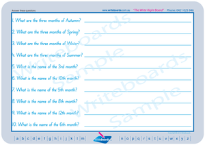 SA Modern Cursive Font Learning Resources for Occupational Therapists and Tutors