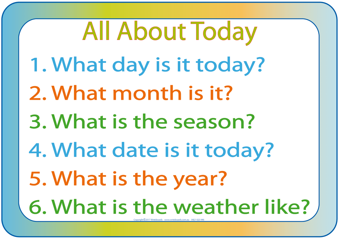 NSW Foundation Font worksheets teaches days,months,years,weather etc.