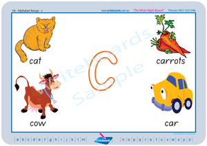 SA Modern Cursive Font alphabet handwriting worksheets. SA alphabet handwriting worksheets.