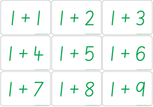 SA Modern Cursive Font Maths Bingo Game for Teachers, SA Modern Cursive Font Teachers Resources