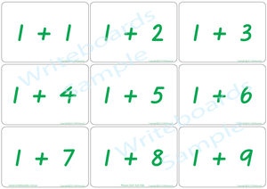 VIC Modern Cursive Font Maths Bingo Game for Teachers, VIC Modern Cursive Font Teachers Resources