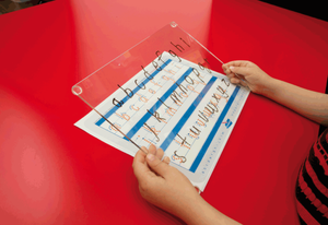 Writeboards reusable writing board is a fantastic teaching aide for your school.