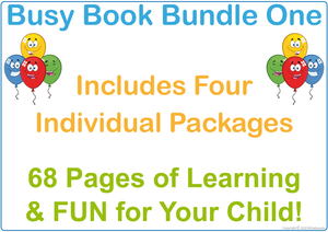 Busy Book Bundle for NSW & ACT Handwriting - Includes 68 Pages