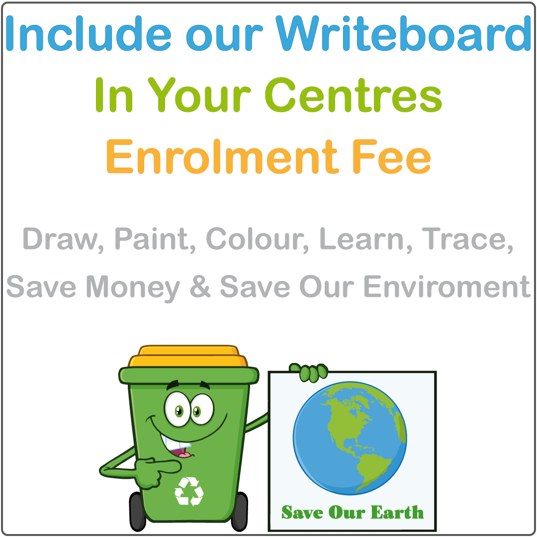 Include the Writeboard in Your Enrolment Fee