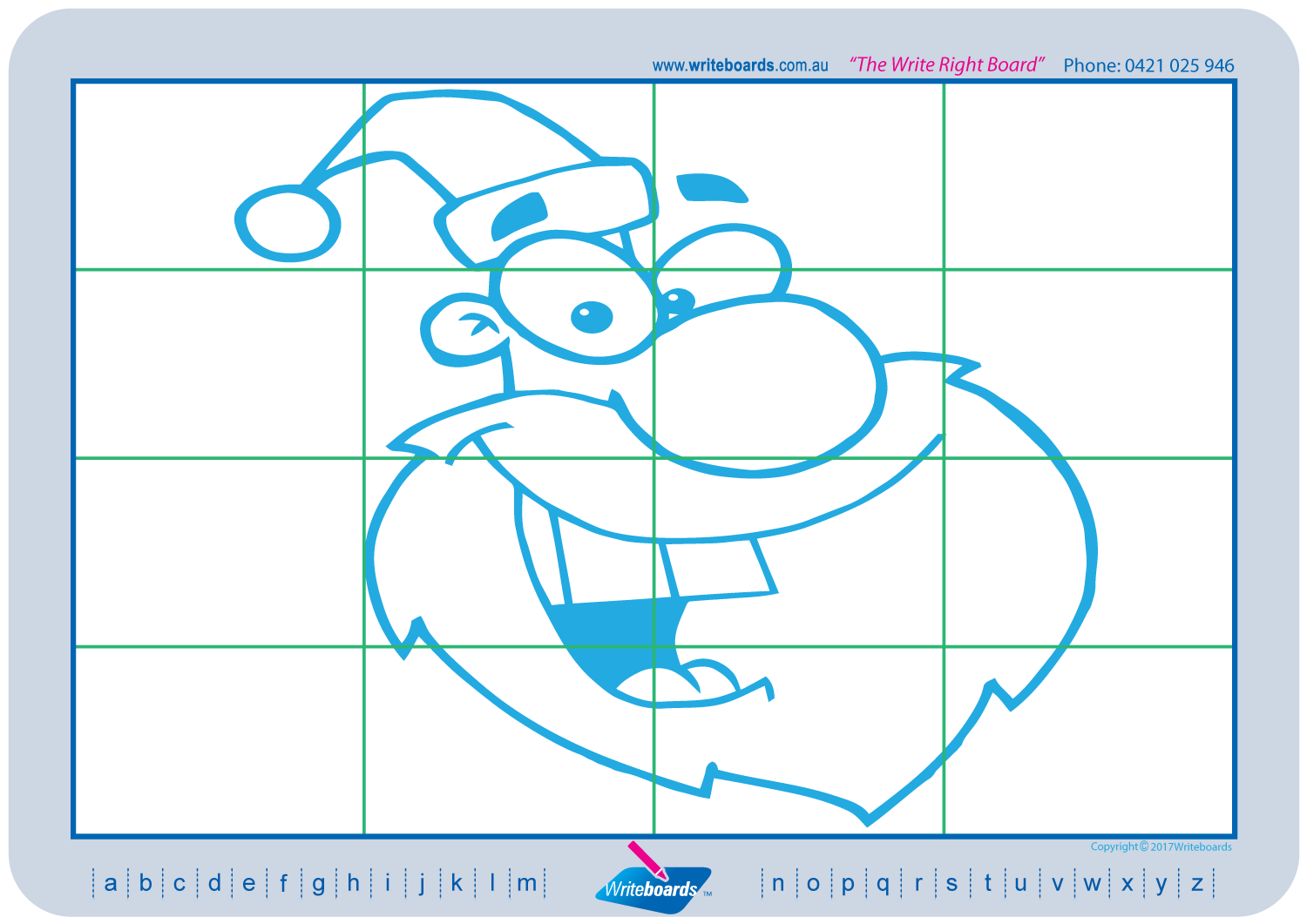 Christmas Drawing Pack | Writeboards | Children\'s Writing Board