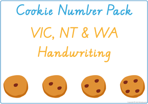 Learning Numbers using Cookies - VIC, NT & WA Handwriting