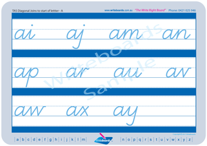 TAS Modern Cursive Font cursive writing worksheets, Cursive handwriting for TAS