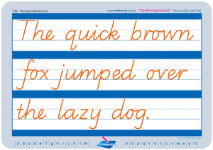 TAS Modern Cursive Font Cursive handwriting worksheets for teachers, TAS teaching resources