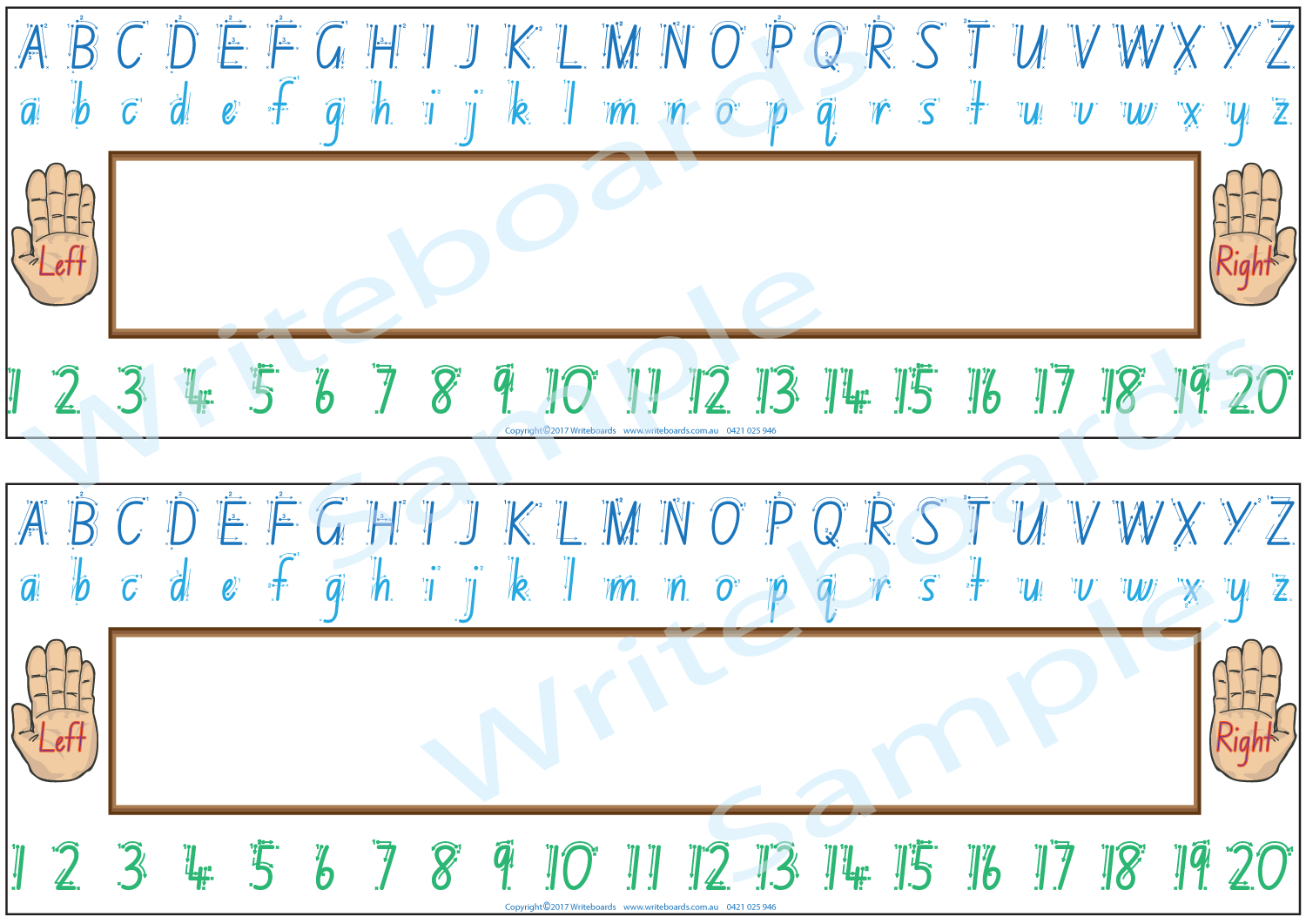 It's just a graphic of Alphabet Strip Printable inside dotted third