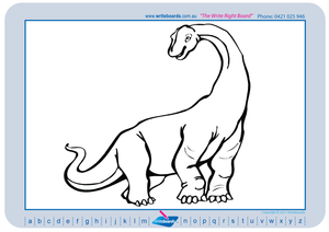 Learn to Draw Dinosaur related images On a Grid for Tutors / Therapists and Childcare