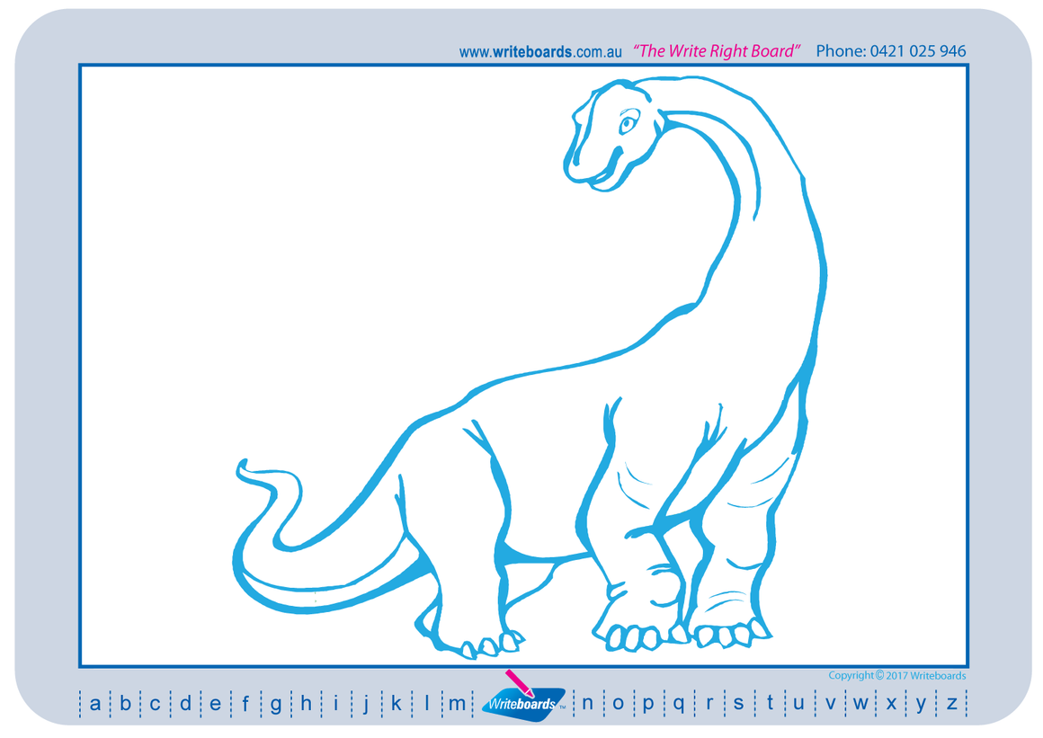 Teach your child How to Draw Dinosaurs using a grid