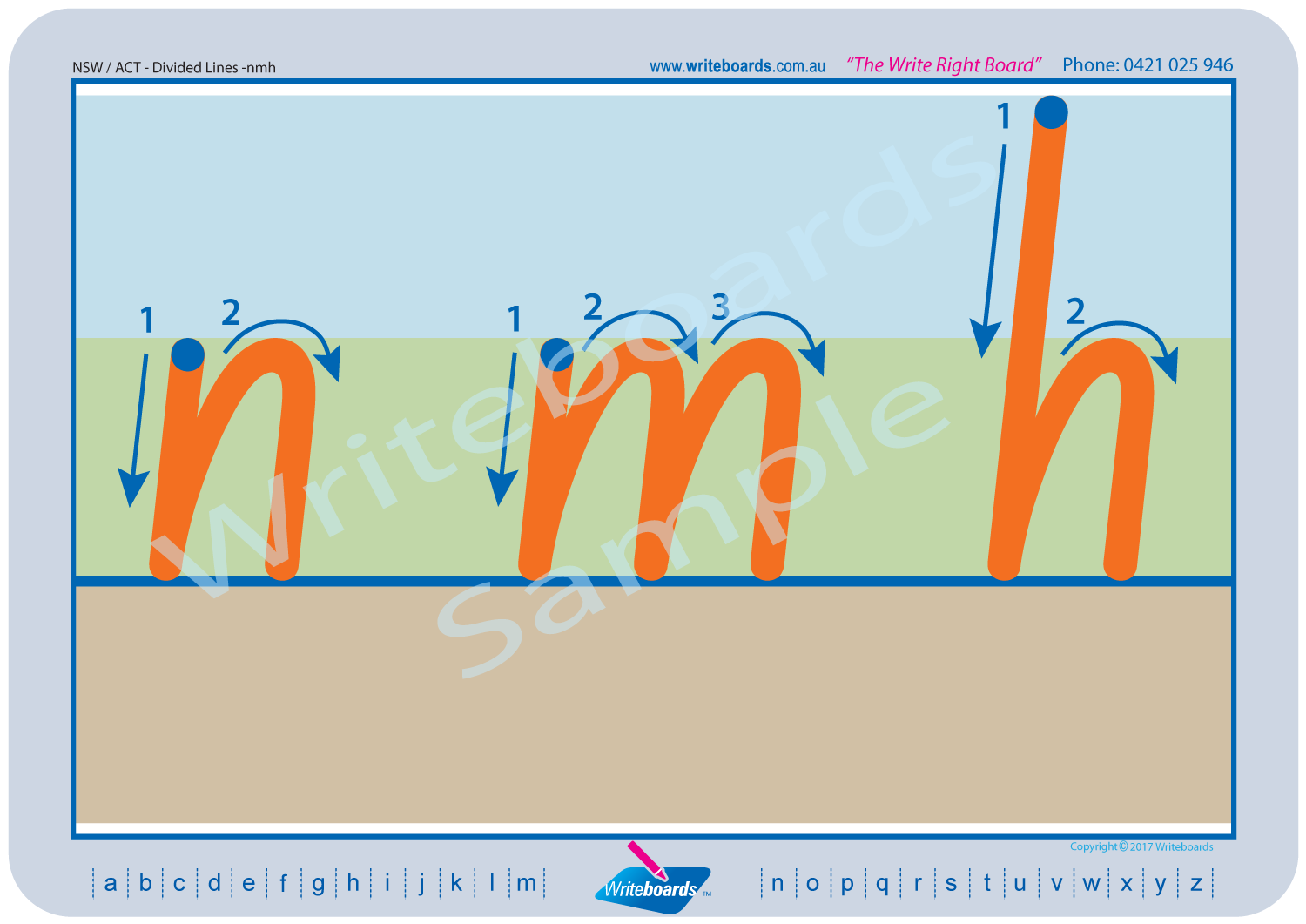 Divided Lines - NSW Foundation Font | Writeboards | Children's ...