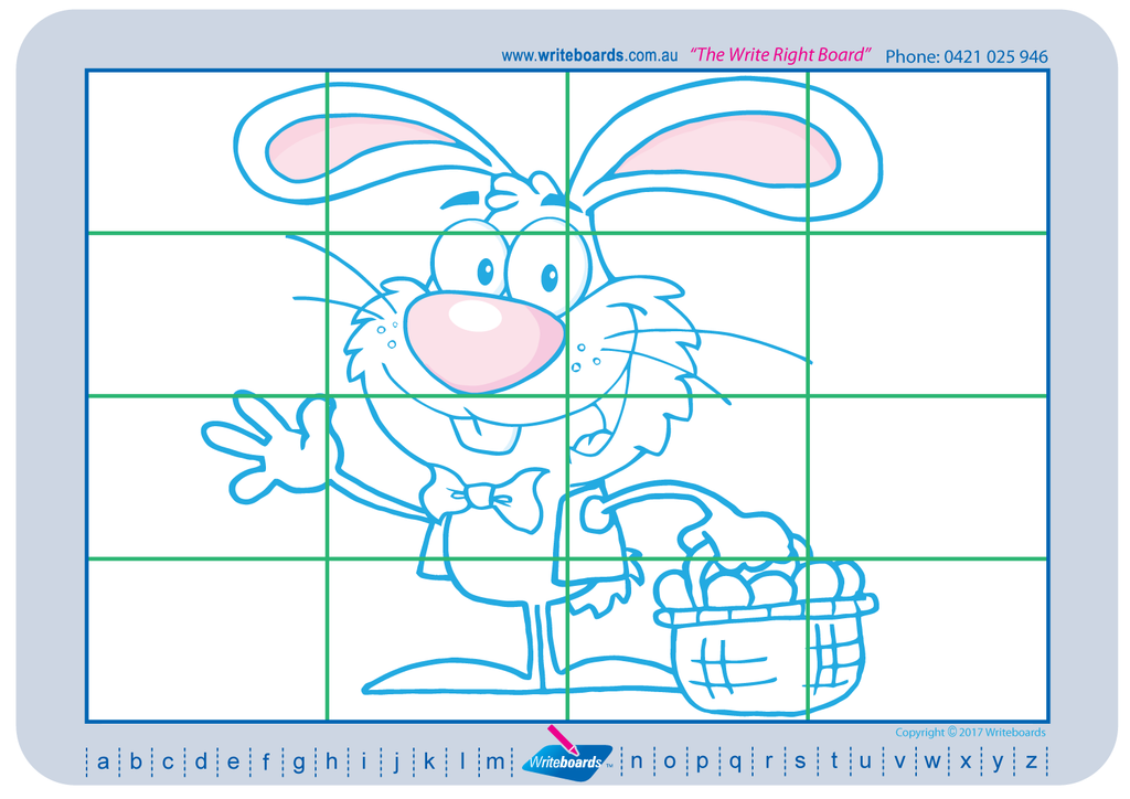 Teach your students to draw and colour Easter related images.
