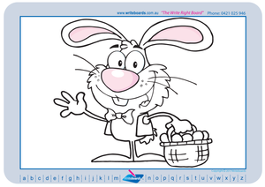 Teach your child how to draw Easter related pictures using a grid
