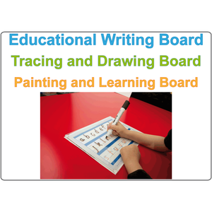 Eco-friendly Children's Writing Board, Clear Acrylic Writing board for kids, Educational Writing Board for Kids