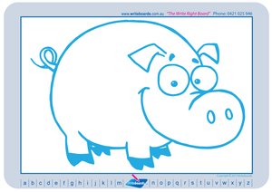 Teach Your Child to Draw Farm Animals and all things Farm using a grid