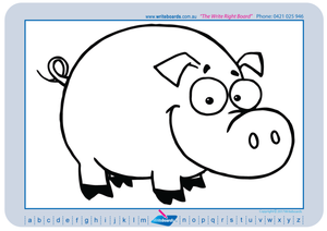 Learn to Draw Farm Animals and all things Farm using a grid