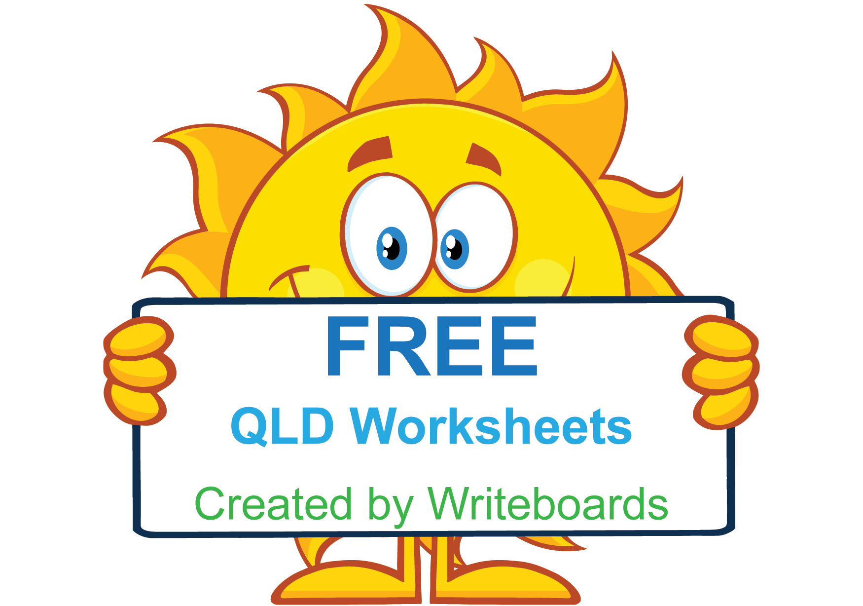 Free QLD Modern Cursive Font Handwriting Worksheets for ...