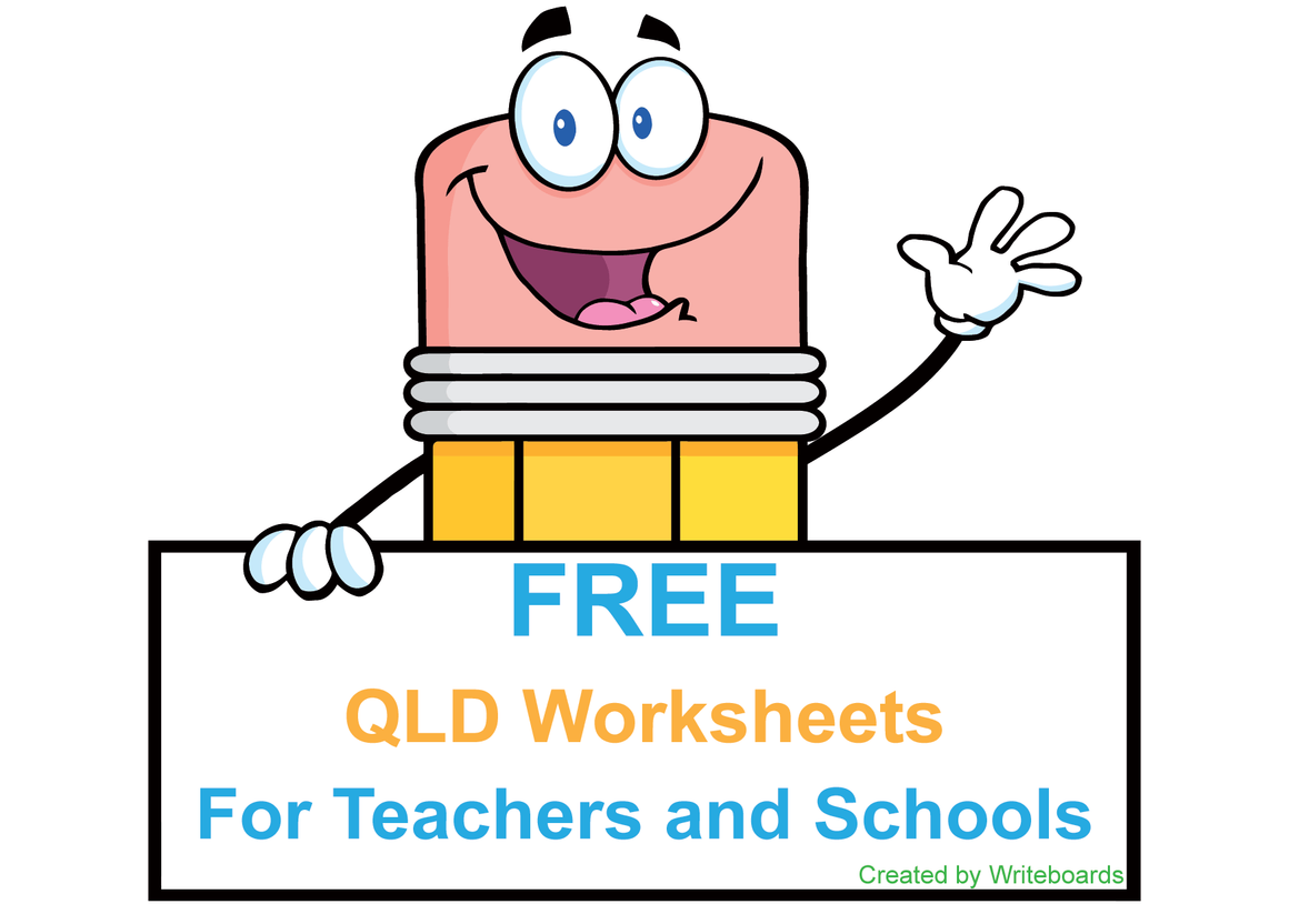 Free QLD Modern Cursive handwriting Worksheets and Resources for Teachers, Printable and downloadable in pdf format