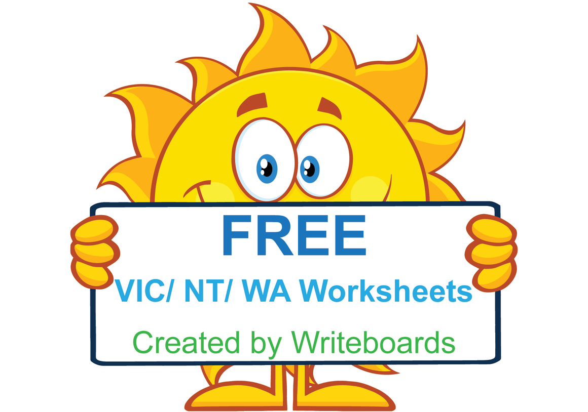 Free VIC Modern Cursive Font Handwriting Worksheets, Download Free VIC, WA, and NT worksheets.