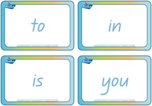 QLD Modern Cursive Font Sign Language Flashcards & Fry Sight Word Flashcards, QLD Teachers Resources