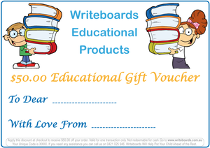 Gift Certificates for Educational Products