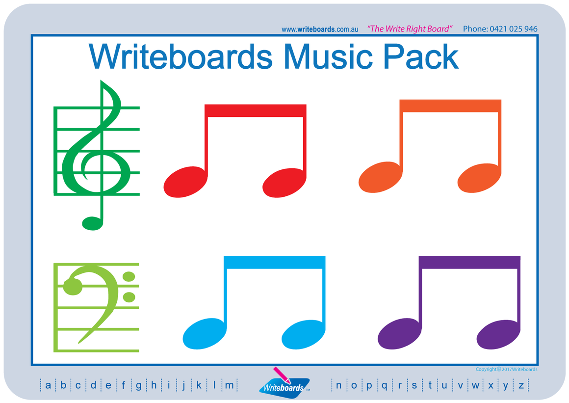 Music worksheets and flashcards for teachers and schools.