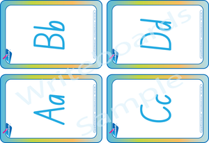 NSW & ACT Busy Book Alphabet Pack comes with Free Flashcards
