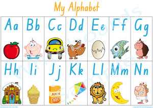 Busy Book Alphabet for NSW & ACT Handwriting, NSW & ACT Alphabet Busy Book