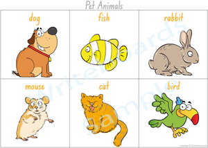 Pet Animal Busy Book Poster for NSW & ACT comes free with our Busy Book Pack