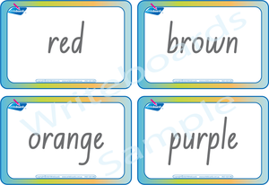 Colour Busy Book comes with free Flashcards