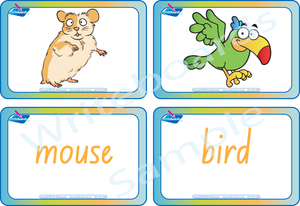 NSW and ACT Pet Animal Busy Book comes with Free Flashcards