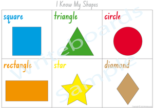 Learning My Shapes - NSW & ACT Handwriting