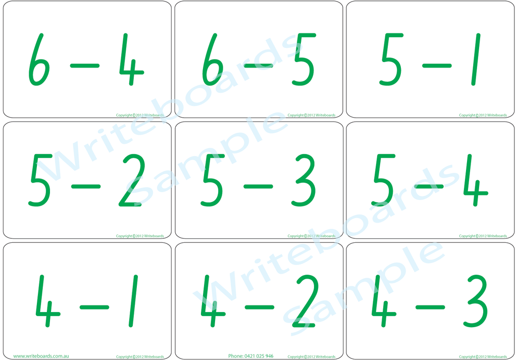 Addition and Subtraction Bingo using NSW Foundation Font. Great for Special Needs Children.